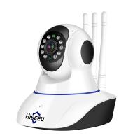 Поворотная IP камера (видеоняня) Hiseeu FH-1C 1080 P (P2P, WiFi, датчик движения, ИК, 1920*1080, 2МП, звук, запись на MicroSD)