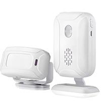 Инфракрасный датчик движения с беспроводным звонком (звуковой датчик движения)