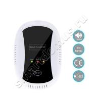 Беспроводной датчик-сирена утечки природного (сжиженного, бытового) газа 433 мГц и 315 мГц (автономный) с возможностью подключения к охранной сигнализации