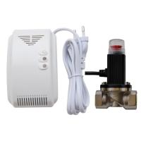 """Система контроля утечки газа с клапаном Sapsan """"Газ-Контроль + Клапан"""" (газоанализатор + запорный клапан)"""