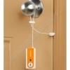 Дверная сигнализация путешественника (сигнализация типа защёлка для двери) с фонариком