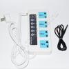 Умная GSM розетка SC4-GSM Трио-Т (4 разъёма) с датчиком температуры и расписанием работы (управление по смс и звонкам)
